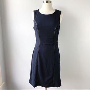New 41 Hawthorn Navy Blue Sheath Career Dress